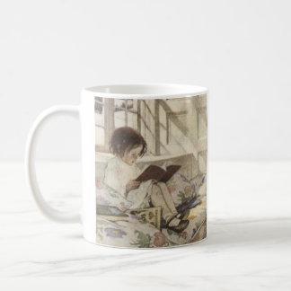Vintage Read a Book Coffee Mug