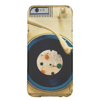 Vintage Record player Barely There iPhone 6 Case