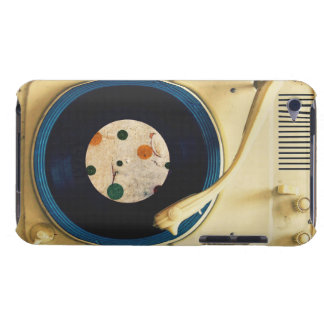 Vintage Record player iPod Case-Mate Case