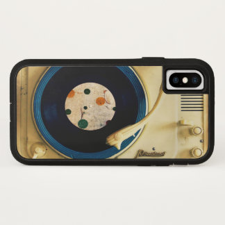 Vintage Record player iPhone X Case