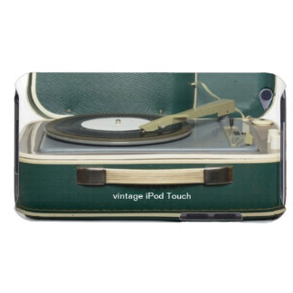 Vintage Record Player iPod Touch Case