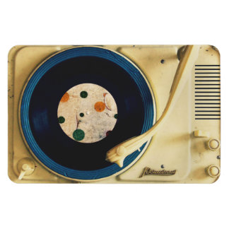Vintage Record player Magnet