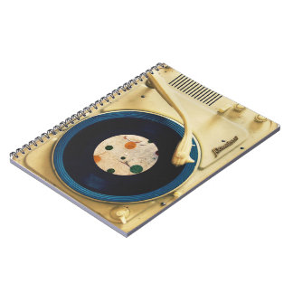 Vintage Record player Notebook