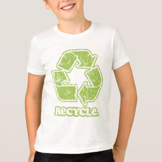 Vintage Recycle Sign Kids T-Shirt
