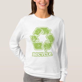 Vintage Recycle Sign Long Sleeve T-Shirt
