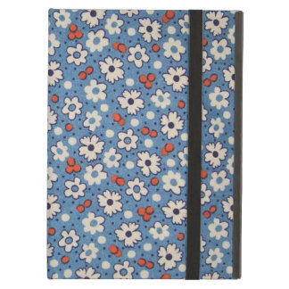 Vintage Red And White Floral Pattern Cover For iPad Air