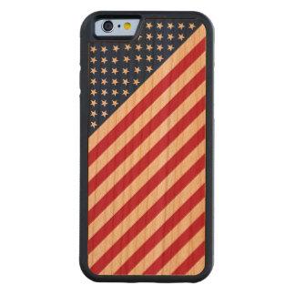 Vintage Red Blue White Stripes Stars iPhone6 Case