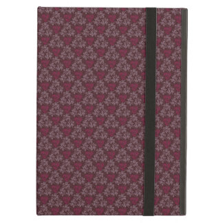 Vintage Red Floral Pattern Cover For iPad Air