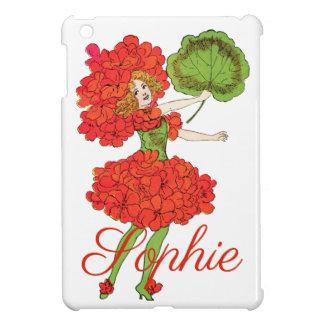 Vintage Red Flower Fairy Personnalised iPad Mini Covers