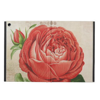 Vintage Red Hybrid Perpetual, Paul Neyron Rose Cover For iPad Air