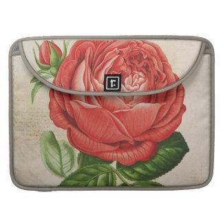 Vintage Red Hybrid Perpetual, Paul Neyron Rose Sleeve For MacBook Pro