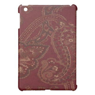 Vintage Red Paisley  iPad Mini Cover