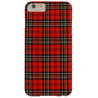 Vintage Red Plaid Pattern Barely There iPhone 6 Plus Case