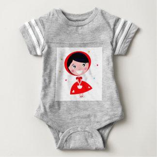 VINTAGE RED RIDING HOOD BABY BODYSUIT