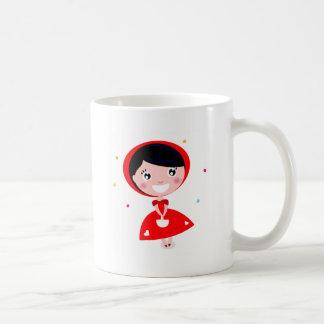 VINTAGE RED RIDING HOOD COFFEE MUG