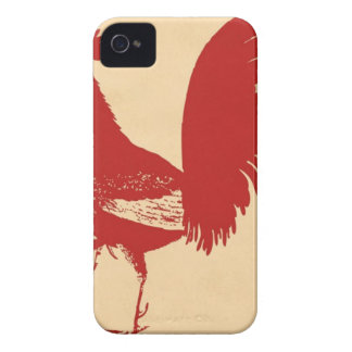 vintage-red-rooster--ON ALL ITEMS iPhone 4 Case