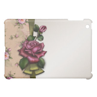 Vintage Red Rose  Case For The iPad Mini