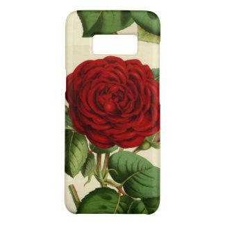 Vintage Red Rose Floral Art Phone Case