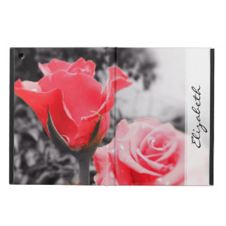 Vintage Red Roses iPad Air Covers