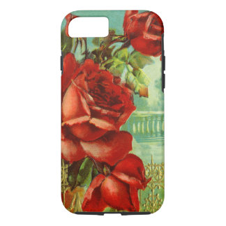 Vintage Red Roses iPhone 8/7 Case