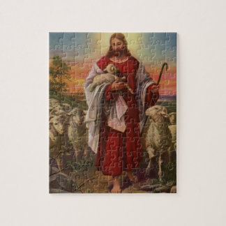 Vintage Religion, Christ the Good Shepherd Jigsaw Puzzle