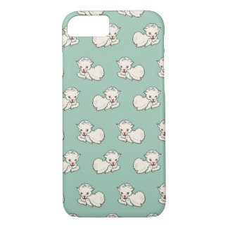 Vintage Religion, Easter Lamb, Baby Farm Animal iPhone 7 Case