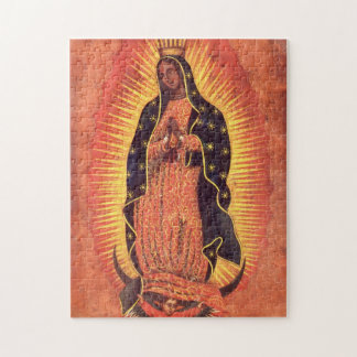 Vintage Religion, Virgin Mary, Lady of Guadalupe Puzzles