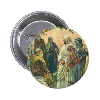 Vintage Religion, Working on the Sabbath, Copping 6 Cm Round Badge