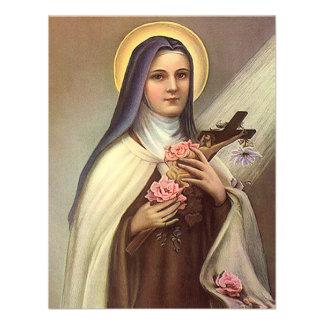 Vintage Religious Easter Nun Cross Christ Roses Announcement