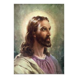 Vintage Religious People, Portrait of Jesus Christ Cards