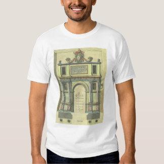 Vintage Renaissance Architecture Church Door Entry Tee Shirt