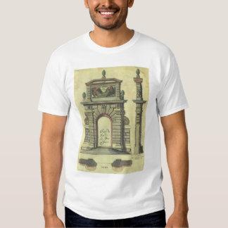 Vintage Renaissance Architecture, Garden Gate Arch Tshirts