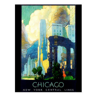Vintage Reproduction Chicago Postcard