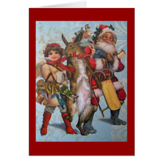 Vintage Reproduction Christmas Card