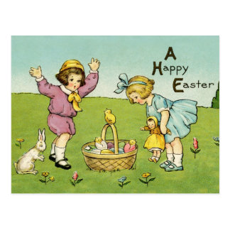 Vintage Reproduction Easter Postcard