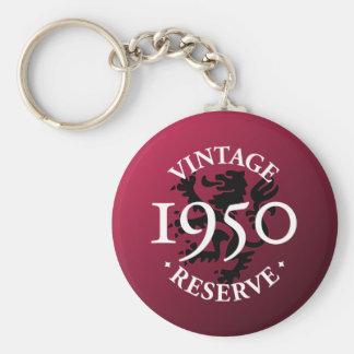 Vintage Reserve 1950 Key Chain