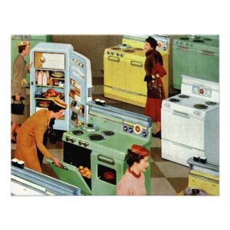 Vintage Retail Business, Appliance Showroom Shop Custom Announcements