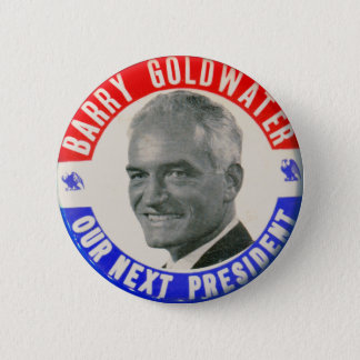 Vintage Retro 1964 Goldwater For President Button