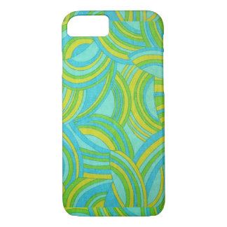 Vintage Retro Abstract pattern iPhone 7 case