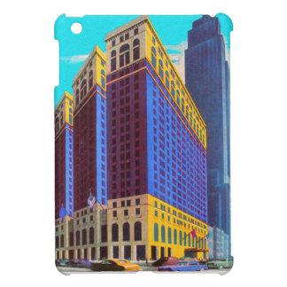 Vintage Retro Architecture Sky Scarper New York Case For The iPad Mini