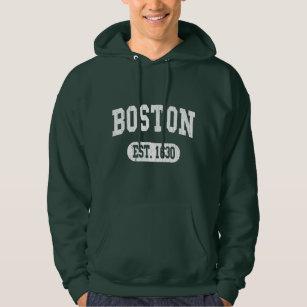 Vintage Retro Boston Hoodie
