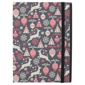 "Vintage Retro Christmas Pattern Holiday iPad Pro 12.9"" Case"