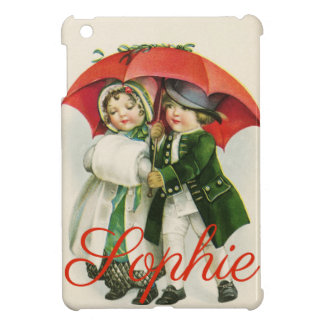 Vintage/Retro Christmas Scene Personnalised iPad Mini Covers