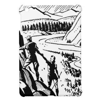 Vintage/Retro Climbers Graphic Case For The iPad Mini