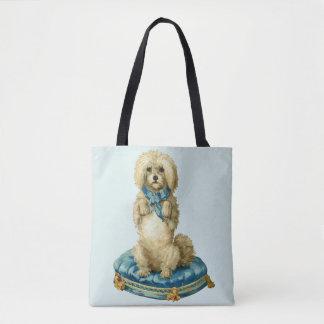 Vintage/Retro Cute Dog Tote Bag