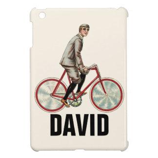Vintage/Retro Cyclist Personnalised iPad Mini Case