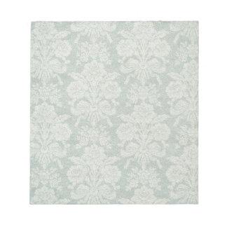 Vintage retro damask patterns notepad