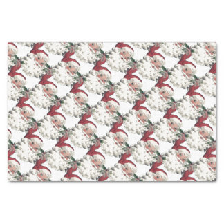 Vintage/Rétro Father Christmas Tissue Paper