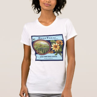 Vintage, Retro Fruit and Vegetable Crate Labels T-Shirt