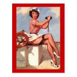 Vintage Retro Gil Elvgren Pin Up Girls Cards Postcards